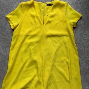 Mini Yellow dress - TRF Zara